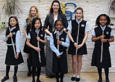 Glenmore Christian Academy Music students