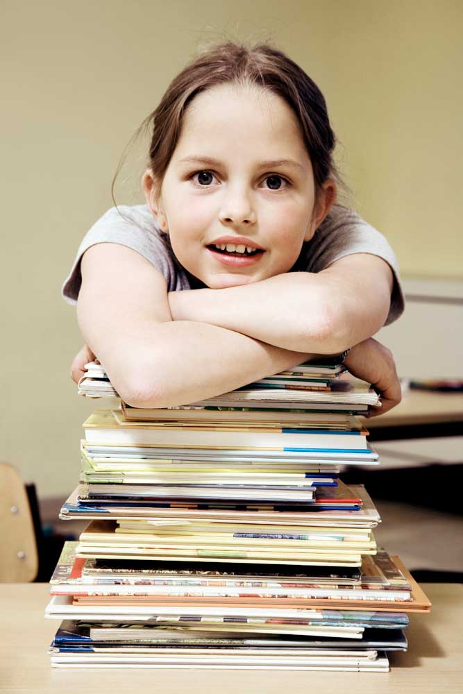 Gifted children demonstrate intense focus on topics of interest.